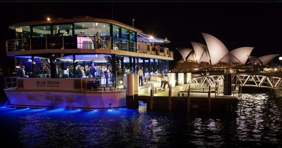 Blueroom gala dinner cruise