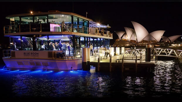 Blueroom private party boat hire in sydney