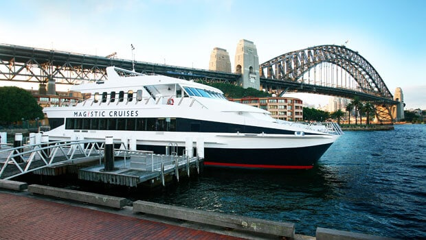 Hire Magistic boat in Sydney