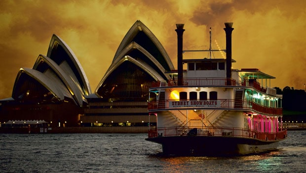 Sydney showboat corporate event ideas