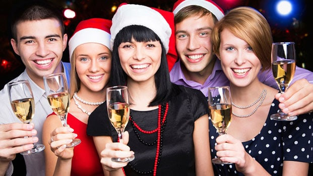 Christmas party charter cruises