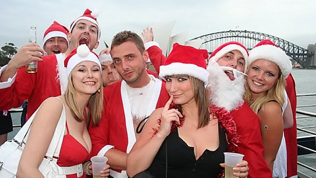 Sydney harbour Christmas party charter cruises