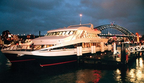 Magistic boat charter sydney