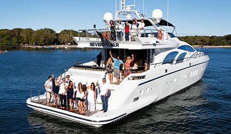 Seven Star boat charter sydney